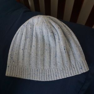 J. Crew Accessories - J. Crew Everyday Ribbed 100% Cashmere Hat Beanie 0876c9003250